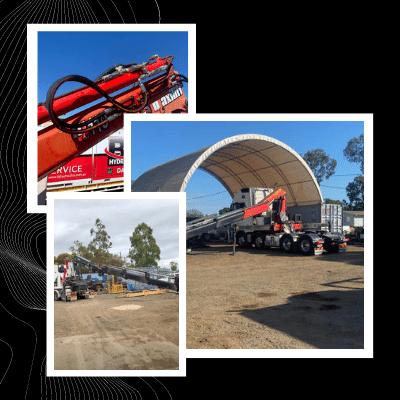 Vehicle Loading Crane Servicing Installs and Repairs